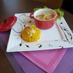 Cocotte de Saint-Jacques au blanc de poireaux