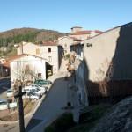 vue du village de Rochetaillée depuis la tour