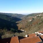vue panoramique depuis la tour du chateau