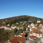 vue panoramique depuis la tour du chateau de Rochetaillée